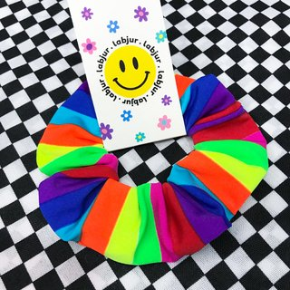Scrunchie - Rainbow