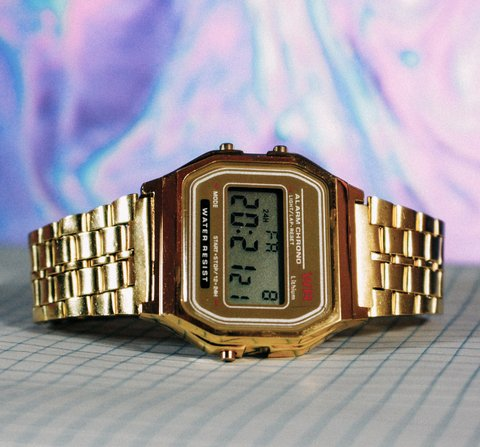 Casio A168 - Gold - Inspired
