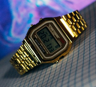 Casio A168 - Gold - Inspired na internet