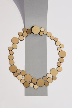 Collar Abstraction Small Metallics - Iskin Sisters