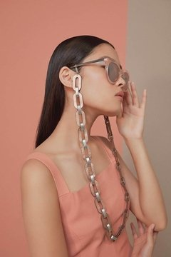 Cadenas para Gafas Rainbow Chain - for Eyeglasses - Plata & Rose Gold