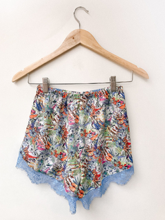 SHORT SEDA CELESTE JUNGLE - comprar online