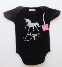 BODY NEGRO UNICORNIO MAGIC - comprar online