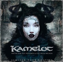 kamelot - poetry for the poisoned & live from wacken - Duplo CD