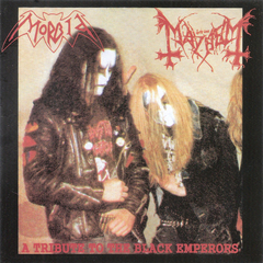 Mayhem / Morbid - a tribute to the black emperors - CD