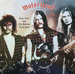 MOTORHEAD - iron fist and the hordes from hell - LP