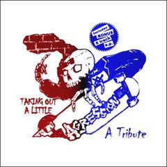 V/A - taking out a little - tribute to agression - LP + EP