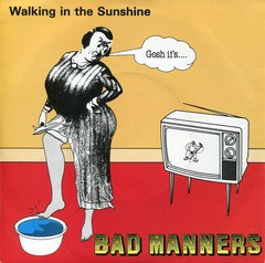BAD MANNERS – walking in the sunshine – EP