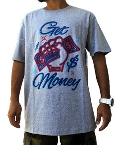 Camiseta DGK Get Money GRY