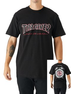 Camiseta Thrasher Independent Trucks Time to Gring