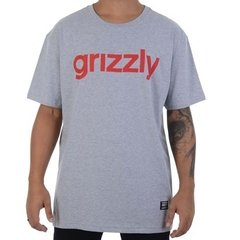 Camiseta Grizzly Lowercase Gry - comprar online