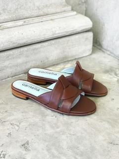 ZAPATO CAPRI MARRON - Camelia Shoes
