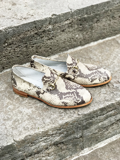 ZAPATO FLORENCE ENTERO REPTIL - Camelia Shoes