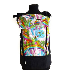 Mochila Ergonómica Toddler - Rainbow Unicorns