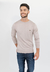 Sweater Algodon Viscosa Beige