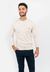 Sweater Base Pique Bastian Beige