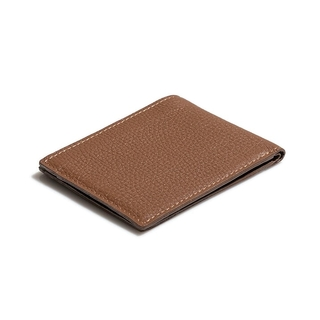 BILLETERA PLEGABLE GRANEADA COGNAC