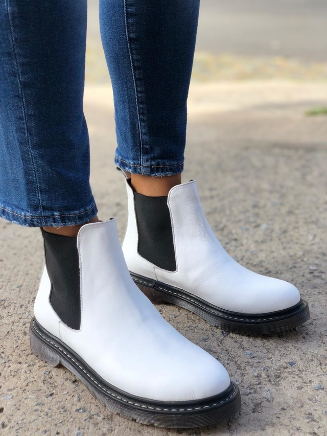 Chelsea Boots Blanco - comprar online