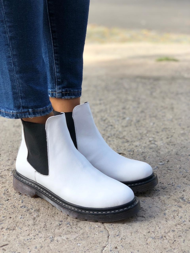 Chelsea Boots Blanco