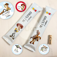 Kit imprimible toy story toystory candy bar tukit - comprar online