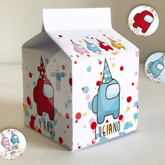 Kit imprimible among us amongus cumpleaños tukit - comprar online