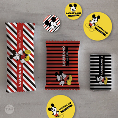 Kit imprimible mickey mouse candy bar tukit en internet