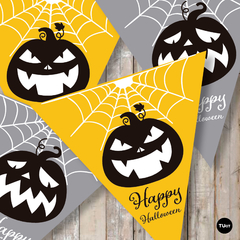 Kit imprimible halloween party tukit - tienda online