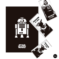 Kit Imprimible Star Wars Starwars Cumpleaños Candy Bar - comprar online