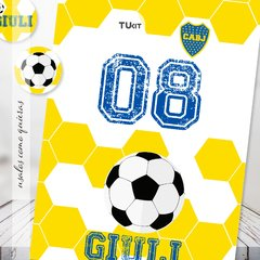 Kit Imprimible Futbol Boca Juniors Candy bar en internet