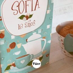 Kit imprimible deco coffee time cafe tukit - TuKit