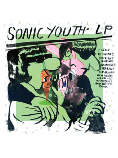 Sonic Youth Baseman [PÔSTER]