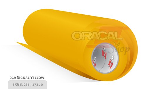 ORACAL 638 Wall Art Signal Yellow 019