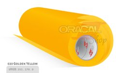 ORACAL 100 Golden yellow 020 rollo 0,63 x 50mts