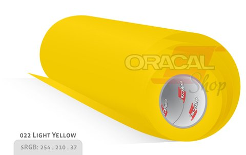 ORACAL 638 Wall Art Light Yellow 022