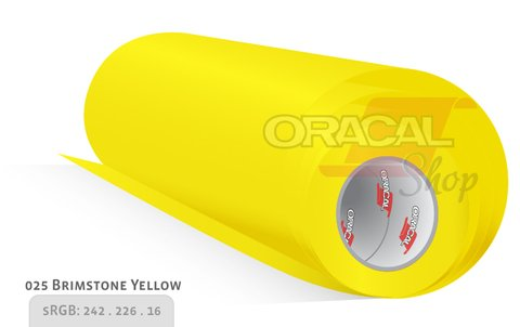ORACAL 651 Birmstone yellow  025