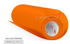 ORACAL  651 light orange 036