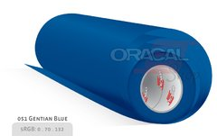 ORACAL 651 Gentian blue 051