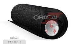 ORACAL 975CR NEGRO 070 Premium Structure Cast Crocodile