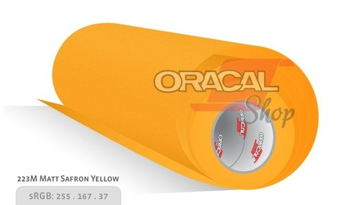 ORACAL 970M Saffron Yellow 223 Premium Wrapping Cast