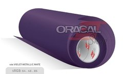 ORACAL 970M Violet Metallic Mate 406M Premium Wrapping Cast