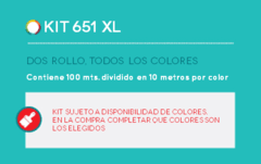 KIT ORACAL 651 XL!!