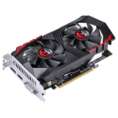 Placa de Vídeo Nvidia Geforce GTX 1050 TI 4GB GDDR5 128 Bits Dual-Fan - Graffiti Séries - PA1050TI12804G5DF - comprar online