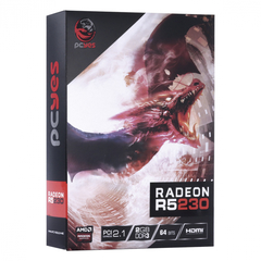 Imagem do Placa de Vídeo AMD radeon R5 230 2GB DDR3 64 Bits com Kit Low Profile Single Fan - PA230R502D3LW
