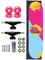 Skate Completo SDS Co 7.75 Girl Power Base