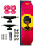 Skate Completo SDS Co 7.75 Girl Power Princess