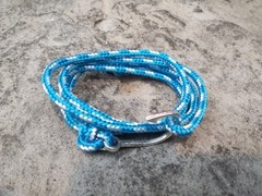 Pulseira Masculina Hope Water Paracord na internet
