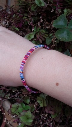 Pulseira Boho Colors Fine na internet