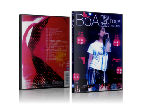 BOA: First Live Tour 2003: VALENTI
