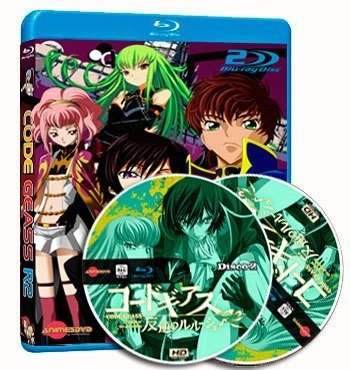 anime Code Geass R2 cover dvd