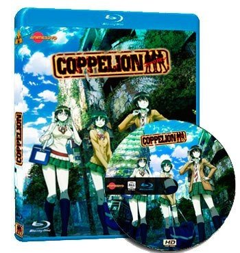 anime Coppelion dvd cover